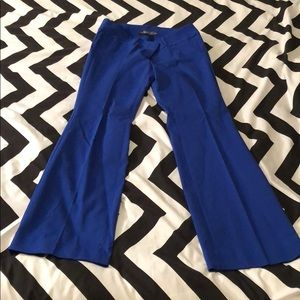 NWOT The Limited Exact Stretch Bootcut Pants Blue